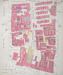 Insurance Plan of City of London Vol. III: sheet 71